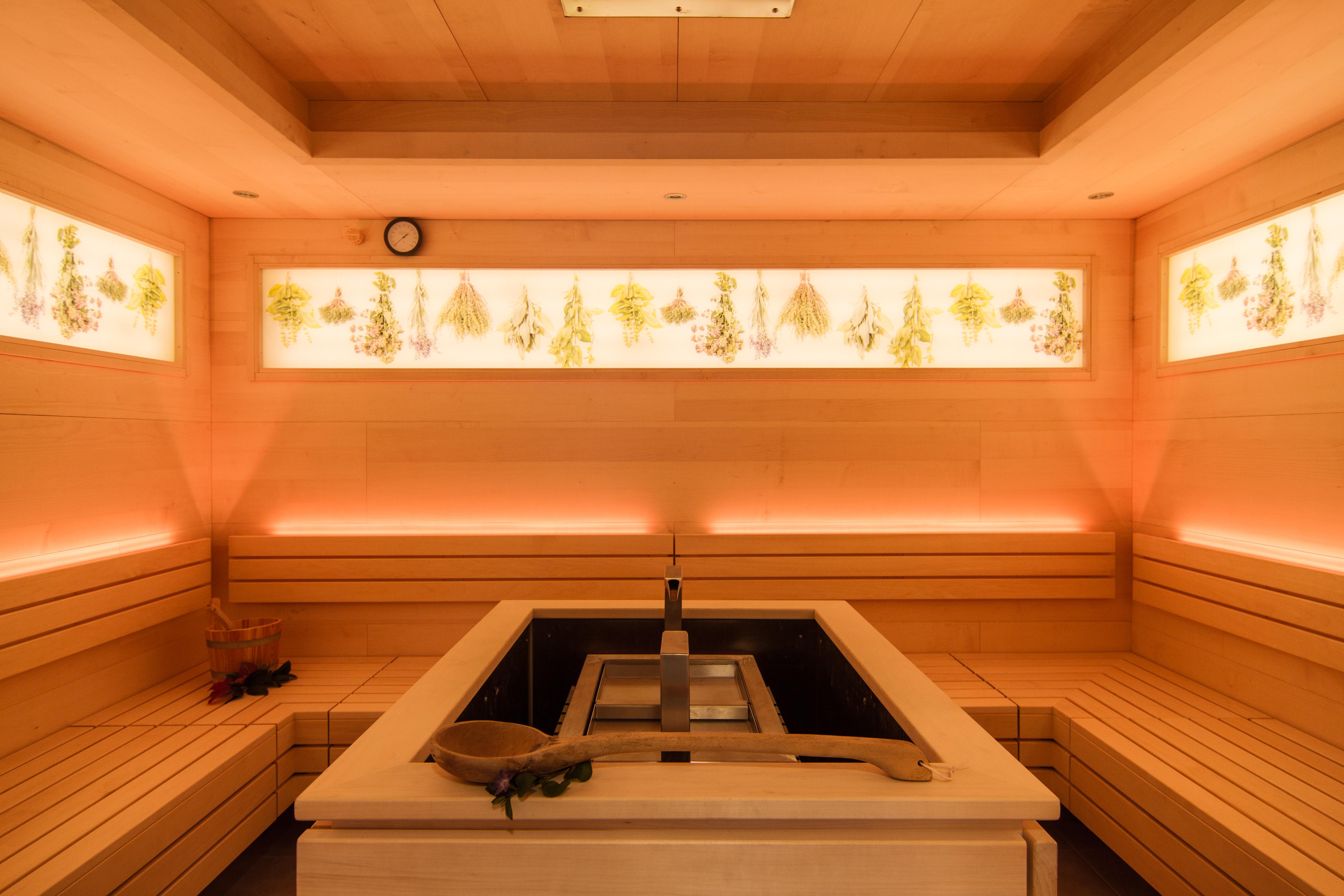 Die neue Kräutersauna - ein Dufterlebnis der besonderen Art