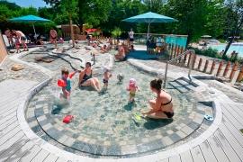 für unsere kleinen Gäste: der Wasserspielgarten